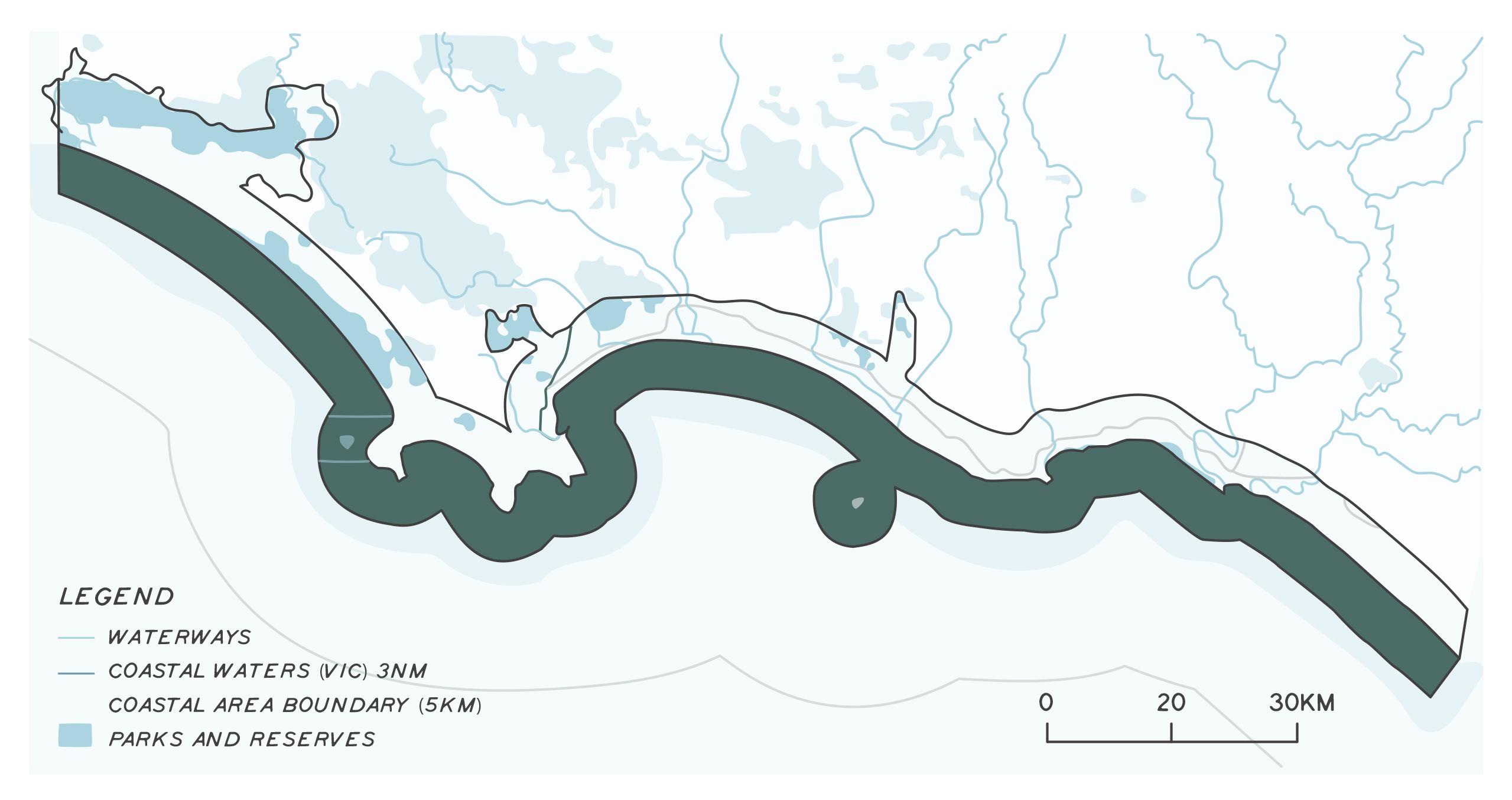 Glenleg Jopkins marine and coast map